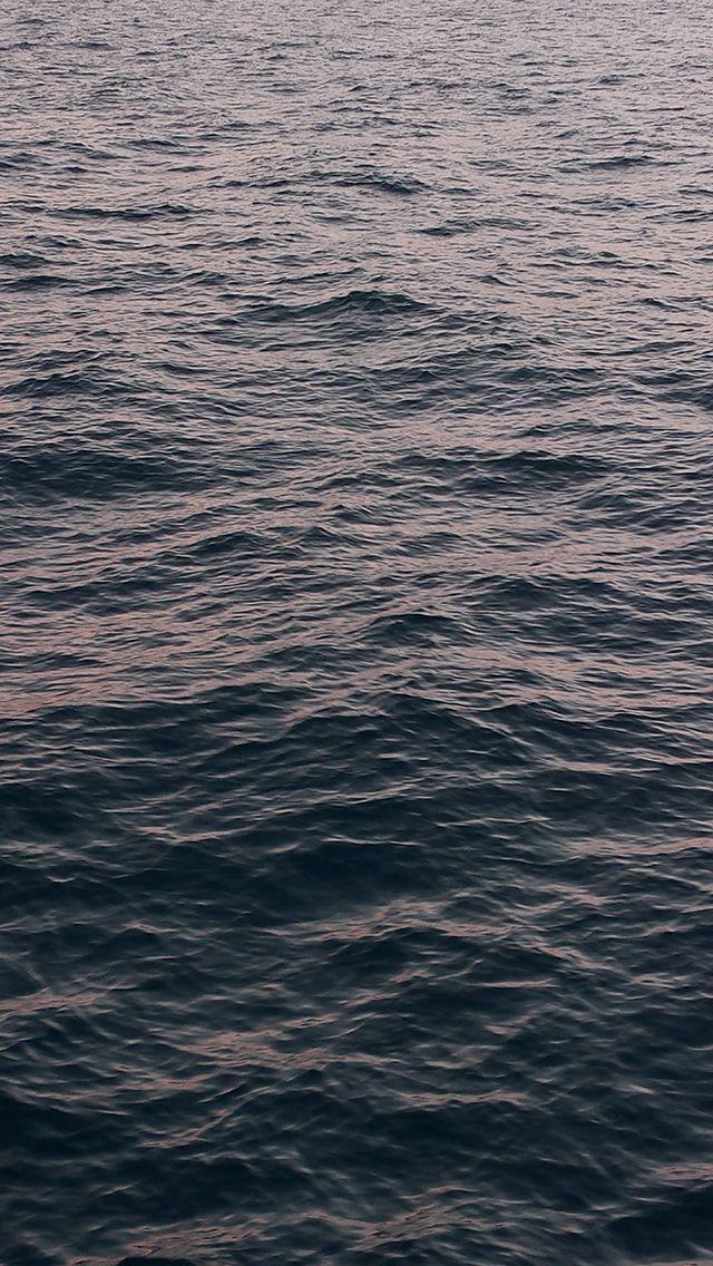 Ne93 Sea Ocean Wave Dark Nature Grey Wallpaper Iphone Waves