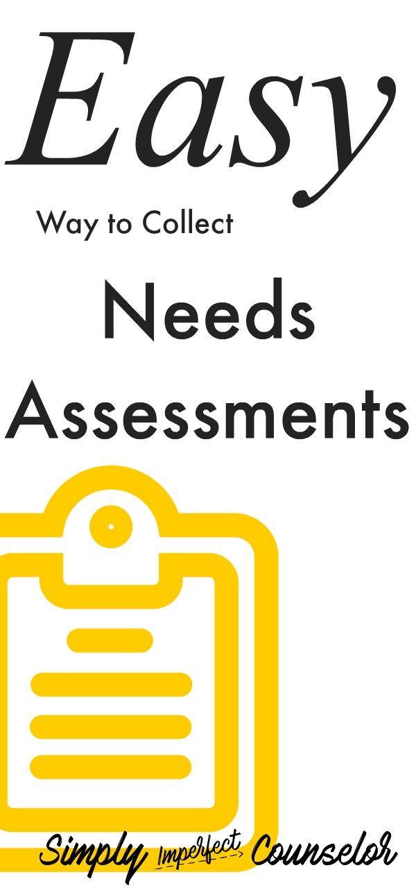 Viac ako 25 najlepších nápadov na tému School counselor forms na - needs assessment