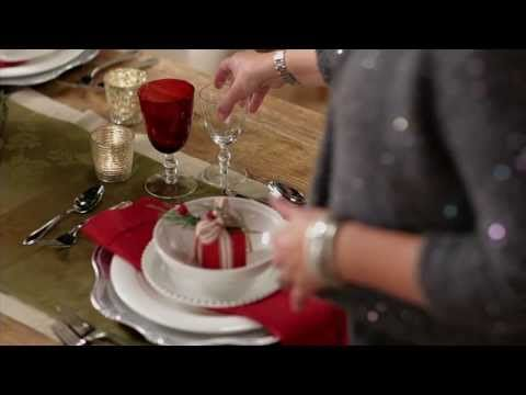 How to Set a Proper Place Setting video.