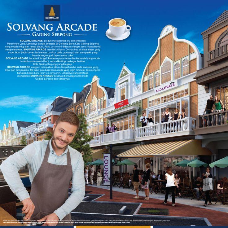 Brosur Solvang Arcade Gading Serpong