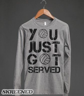 Volleyball Long Sleeve - Volleyball - Skreened T-shirts, Organic Shirts, Hoodies, Kids Tees, Baby One-Pieces and Tote Bags