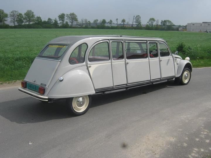 citroen 2cv limousine