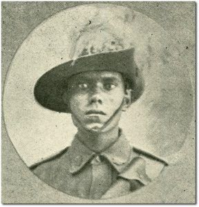 Charles Alley, 11th Light Horse. From Chartres Towers, Qld.