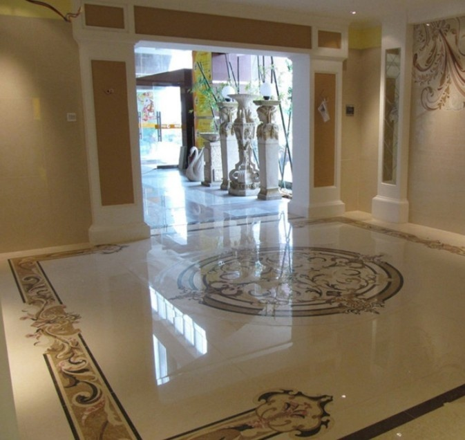 Marble Inlay Flooring Designs : Best images about waterjet marble on pinterest
