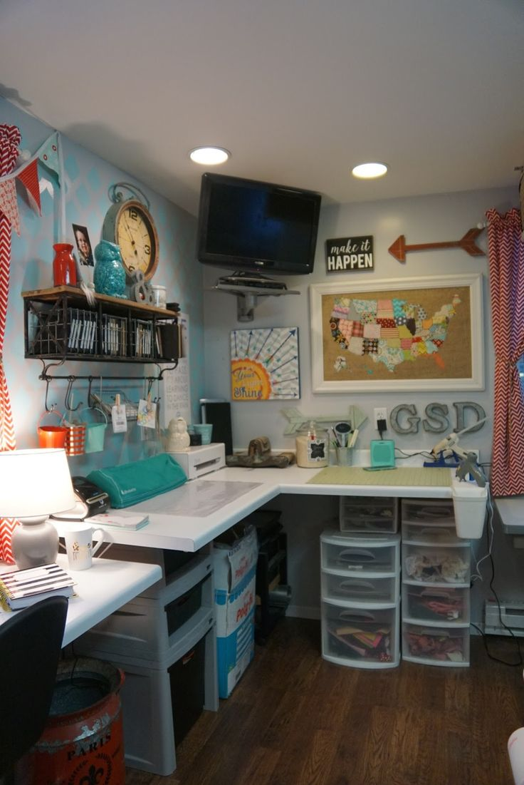My Rooms 2626 Best Craft Room Images On Pinterest  Craft Rooms Craft .