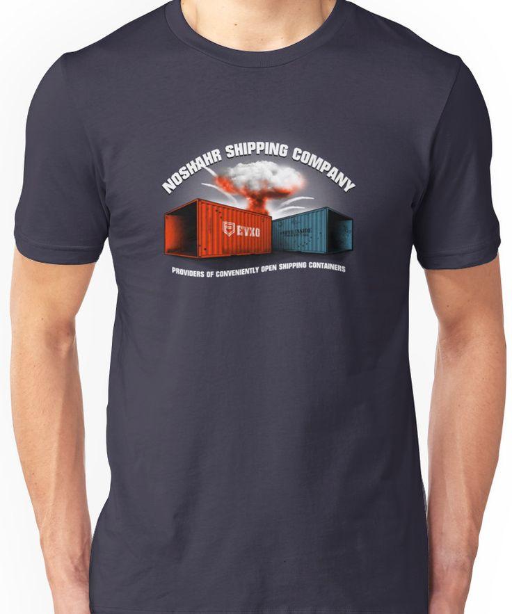 Noshahr Shipping Company Unisex T-Shirt