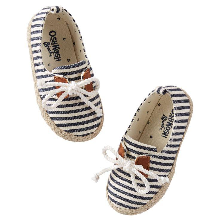 Chaussures rayées à lacets pour bébés filles | Carter's OshKosh Canada