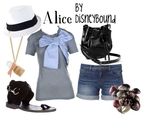 Alice: Disney Outfits, Style, Disney Inspired, Alice In Wonderland, Inspired Outfits, Disney Bound, Disneybound, Disney Clothes, Disney Fashion