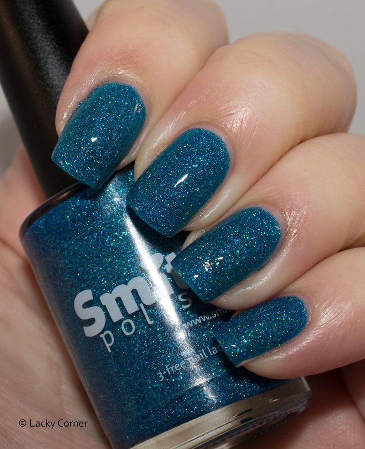 Lacky Corner: Smitten Polish - In October We Also Wear Blue