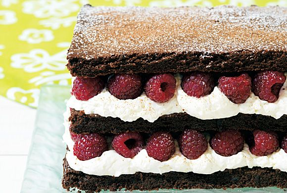 Dark Chocolate Raspberry Napoleon recipe - Canadian Living...I would ...