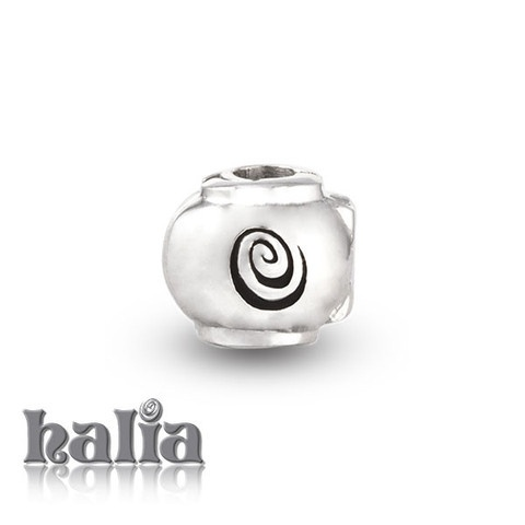 Lock Bead: Add an extra layer of security to your charms with a Halia lock bead. Sterling silver, hypo-allergenic and nickel free.    $36.00