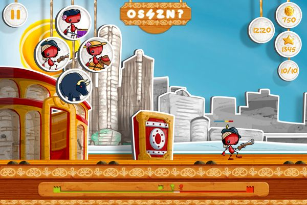 Battle of Puppets - Mobile Game iOS by Noe Rivera, via Behance