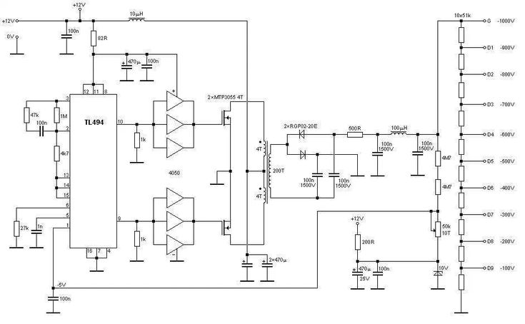 High voltage stable power supply - Power Supply Circuits ...