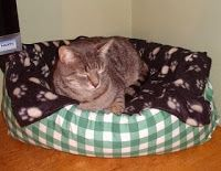 Tutorial - How to Make a Cat Bed with Pillows - Totally Tutorials