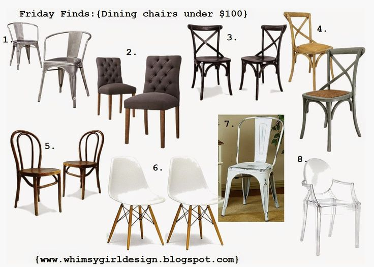 Dining Room Chairs Under