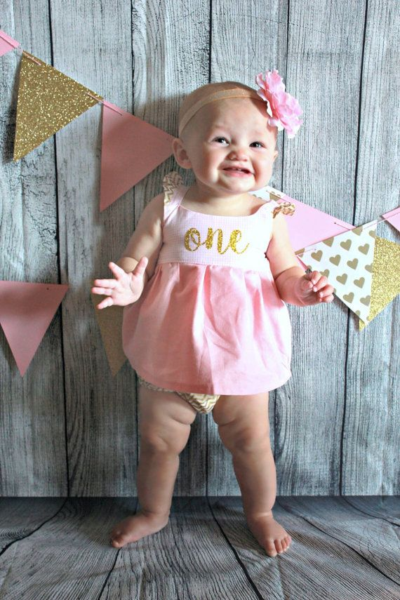 Hey, I found this really awesome Etsy listing at https://www.etsy.com/listing/239001663/pink-and-gold-glitter-first-birthday