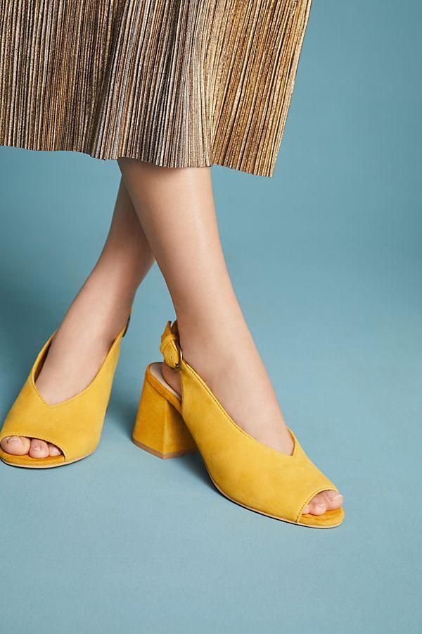 31a5c897f8 Seychelles Playwright Heeled Slingbacks | Love shoes | Shoes, Heels ...