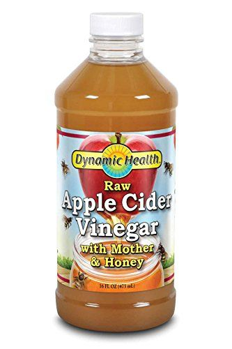Dynamic Health Labs Apple Cider with Mother and Natural Honey Supplement 16 Ounce