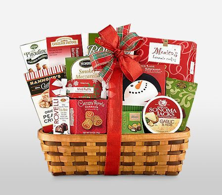 This is the sweetest gift you can give someone to make their #Christmas merry. So much of goodness in it! Agree? #ChristmasHamper #ChristmasGifts  flora2000.com