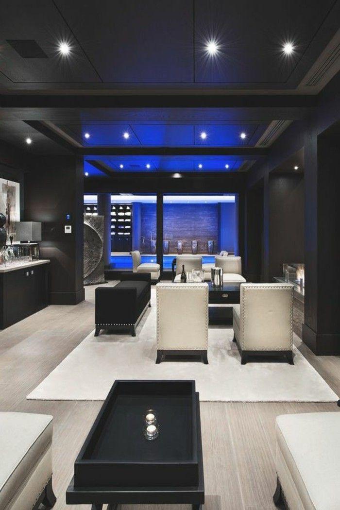 Designer Wohnzimmer - die Ihnen eine Vorstellung verschaffen werden - wohnzimmer design schwarz