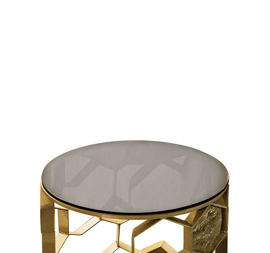 Trend Messing Beistelltisch Modernes Design Minimalismus Design Minimalist Decor Designer M bel Hochwertige