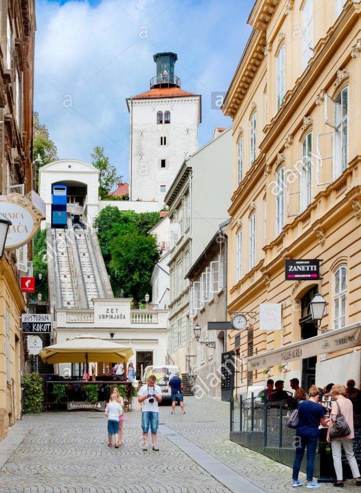 Vallis Aurea Summer Terace In Tomiceva Street Zagreb Croatia Zagreb Croatia