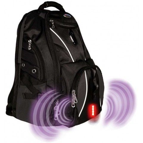 Isafe Ultimate Laptop #Backpack Black
