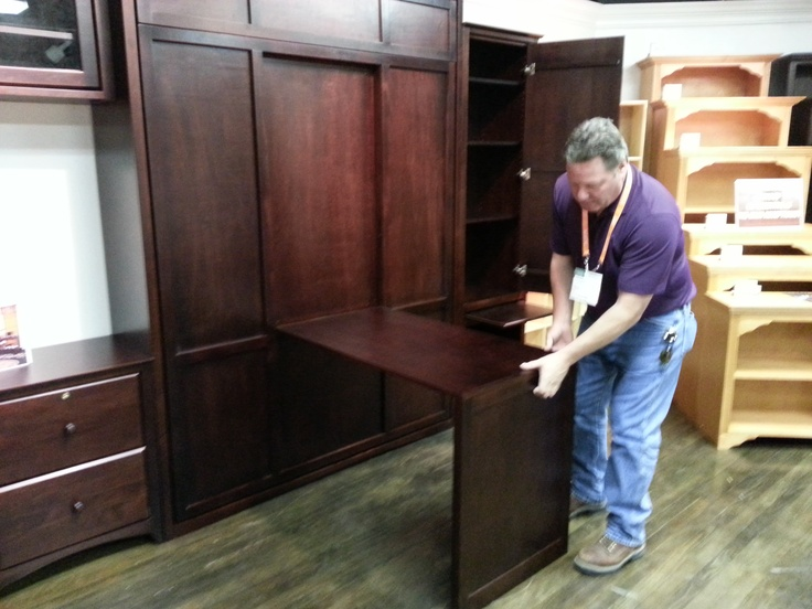 New Murphy Bed from Inwood Furniture with desk