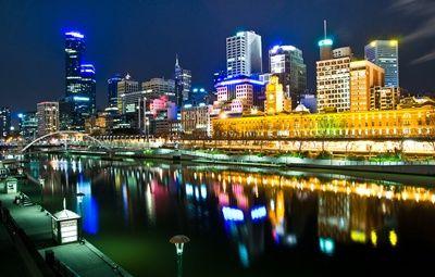 South Bank in Melbourne, Australia (visited in June 2012)
