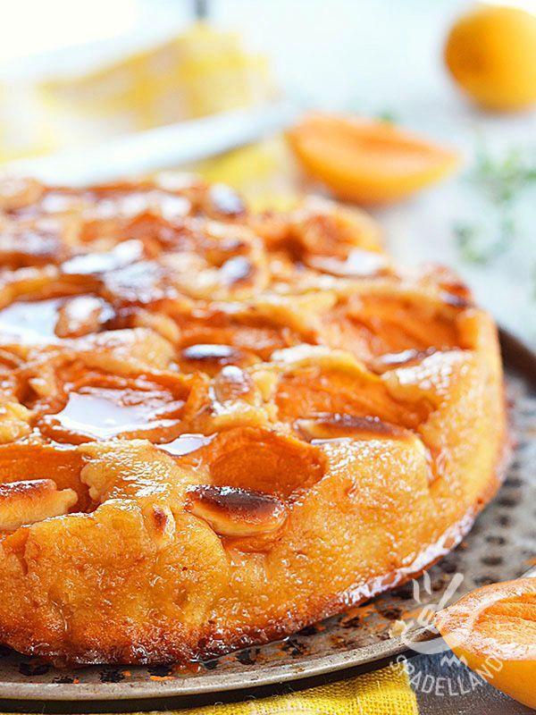 La Torta alle albicocche e mandorle è un dessert gustoso e fresco tutto a base di preziosa e nutriente frutta di stagione. Rinfrescante e delicata!