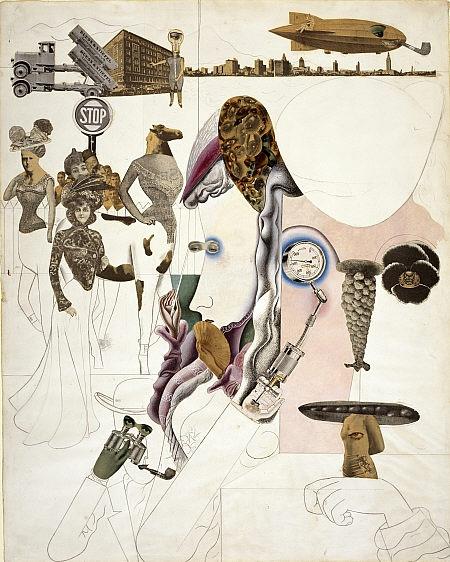 Edward Burra  Collage