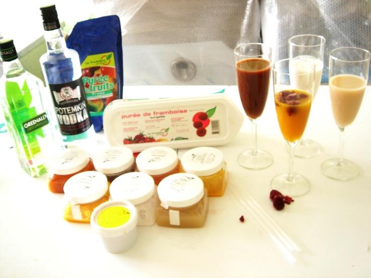 La Fruitiere du Val Evel. Alcohol spirits from Kondor.