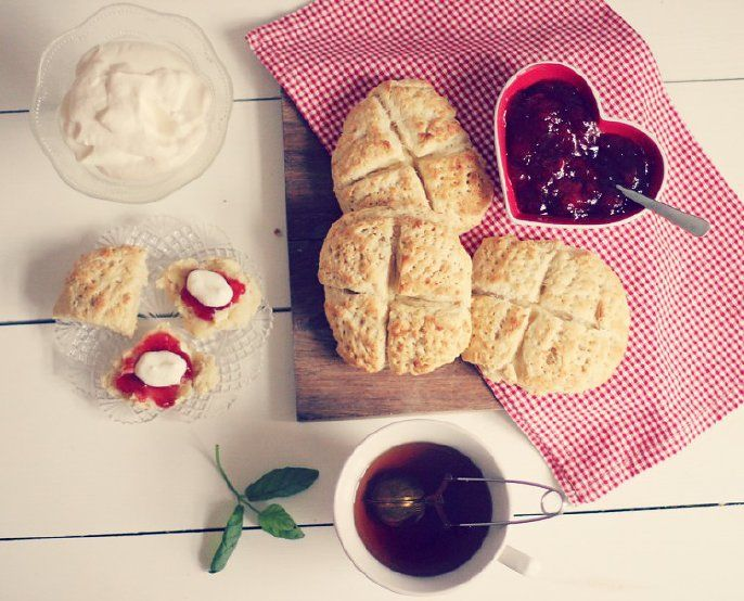 Recipe for the perfect scones!