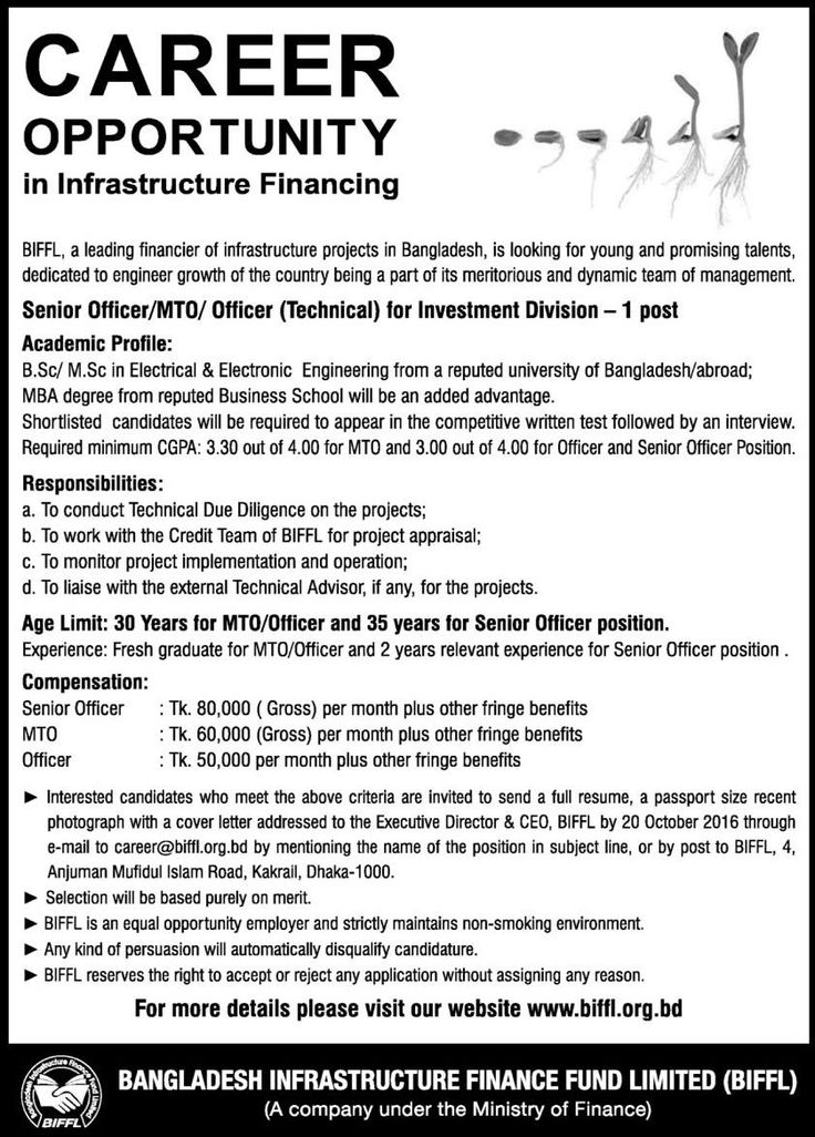 Bangladesh Infrastructure Finance Fund Limited Job Circular