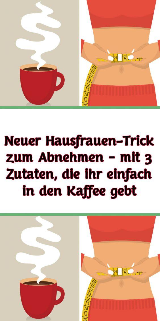 Neuer Hausfrauen-Trick zum Abnehmen – mit 3 Zutaten die ihr einfach in den Kaffee gebt