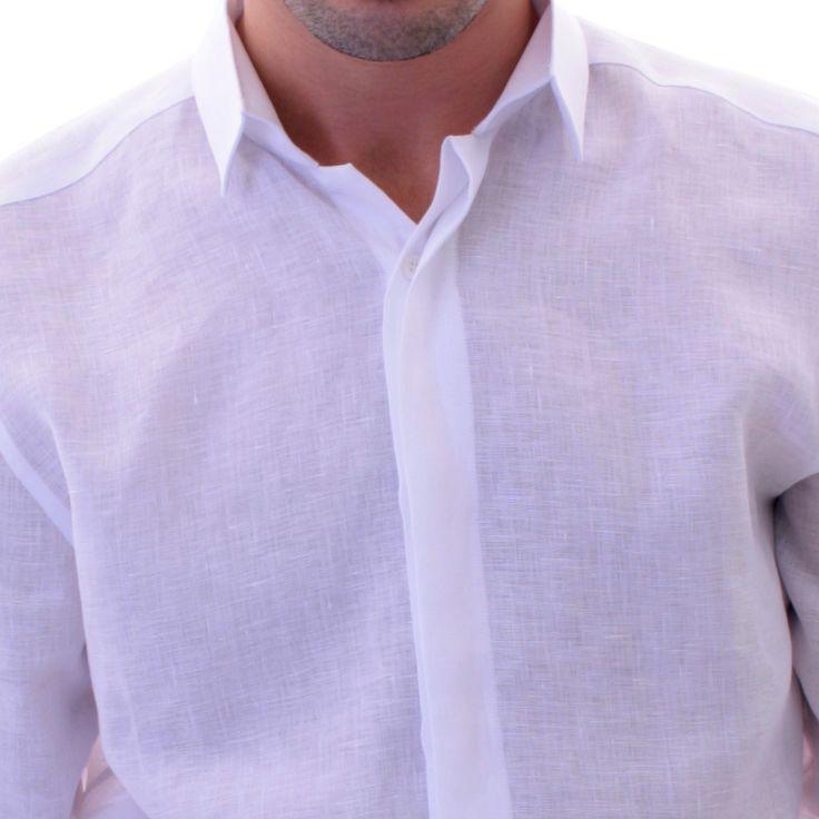 Assez Les 25 meilleures idées de la catégorie Chemise lin homme sur  GR18