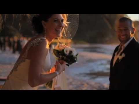 Taryn and Shane were married at Wategos Beach Byron Bay