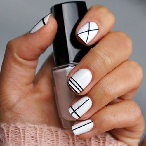 14 white nail polish designs see them all right here http - Nail. 1000 Ideas About Nail Art Designs On Pinterest Pretty Nails