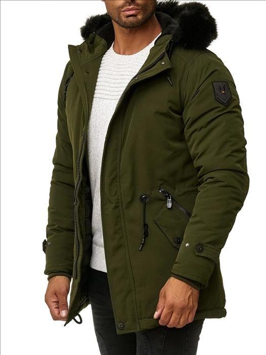 Trendy Winterjas Heren.Nieuw Binnen Trendy Winterjassen Voor Mannen Normale Fit