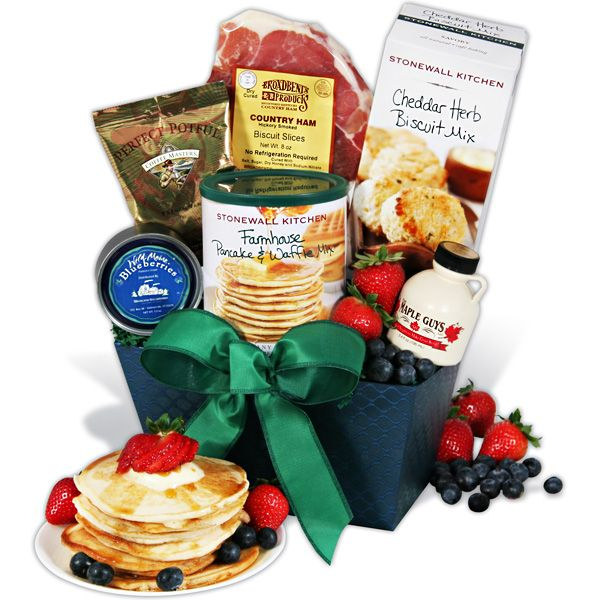 gourmetgiftbaskets.com New England Breakfast Gift Basket Classic