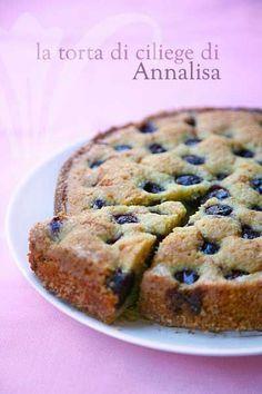 Torta di ciliegie di Annalisa Barbagli - è veramente eccezionale!