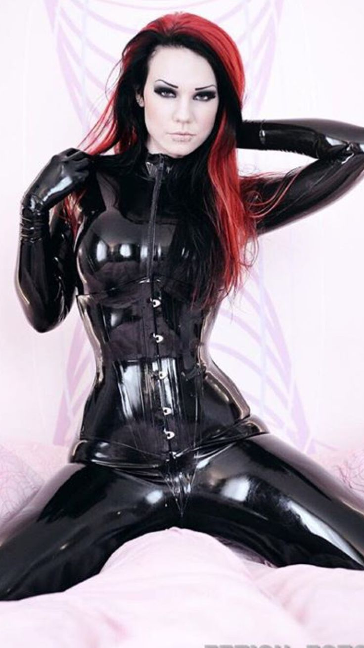 Gorgeous! german latex porn this