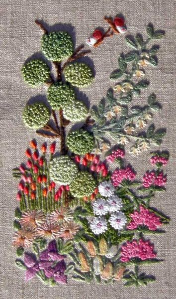 Topiary kit — French Needlework Kits, Cross Stitch, Embroidery, Sophie Digard — The French Needle
