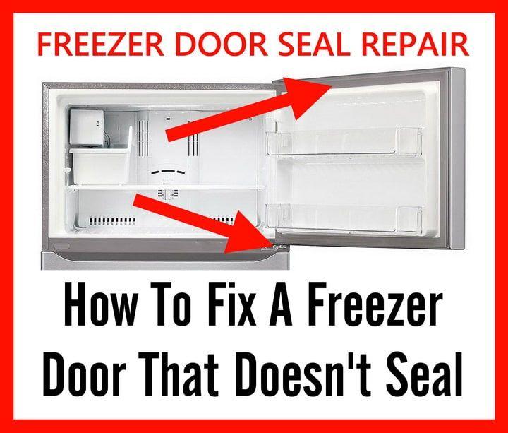How To Fix A Freezer Door That Doesn T Seal Shut Freezer Door Seals Fix It