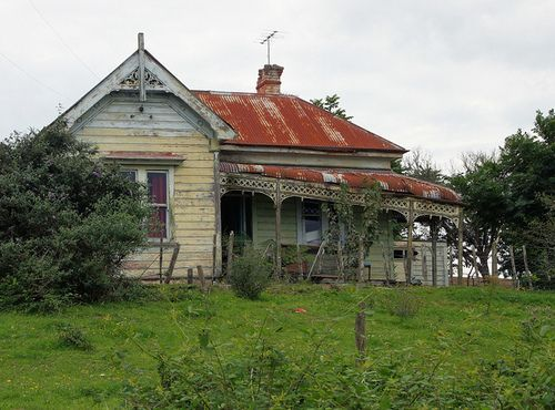 old abandoned farm houses in New Zealand - Google Search