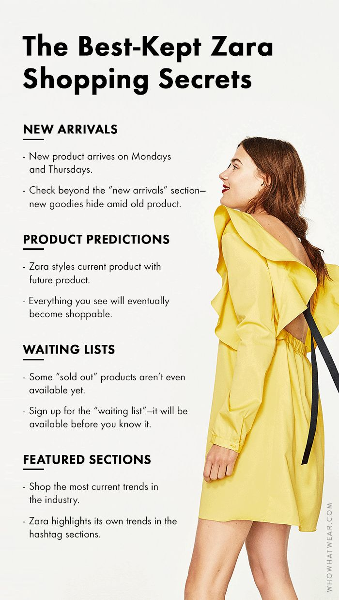 Bookmark this for the next time you're heading into Zara—or scrolling through the app. These are the best-kept secrets about the retailer.