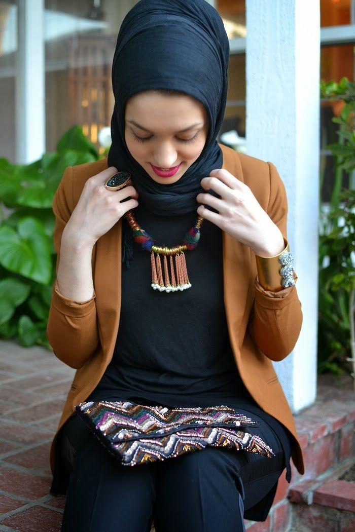 Chic and classy #hijab #hijabi #style #fashion