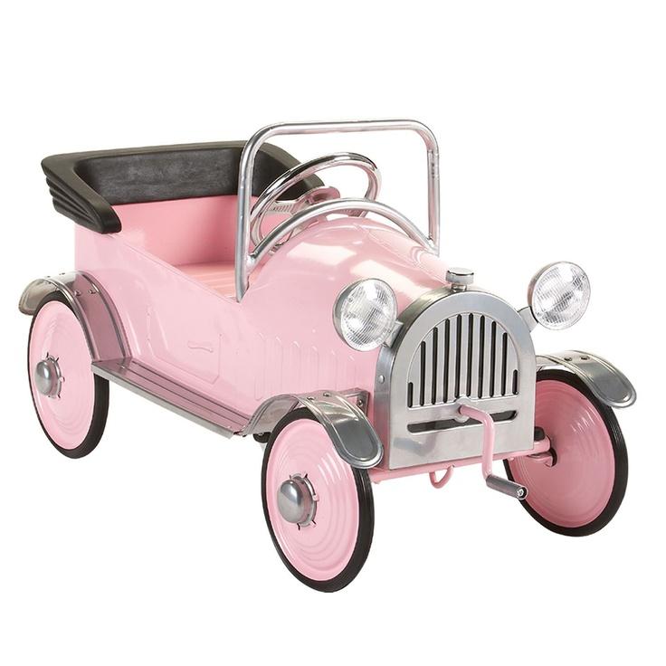 Pink Princess Pedal Car Pedal cars, Princess car, Pretty
