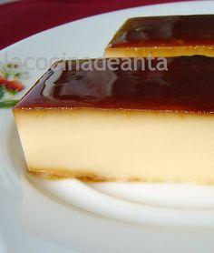 LA COCINA DE ANTA: Tarta Flan de queso