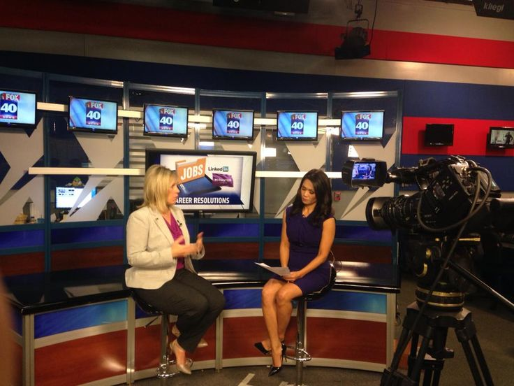 Sharing #career tips on Fox 40